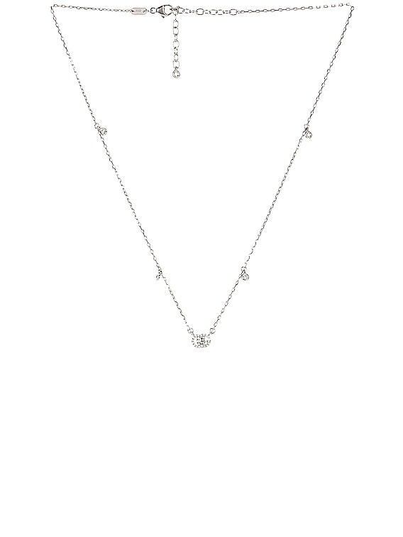 GG Running Necklace in 18KT White Gold & Diamonds