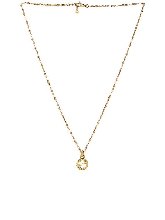 GG Necklace in Yellow Gold