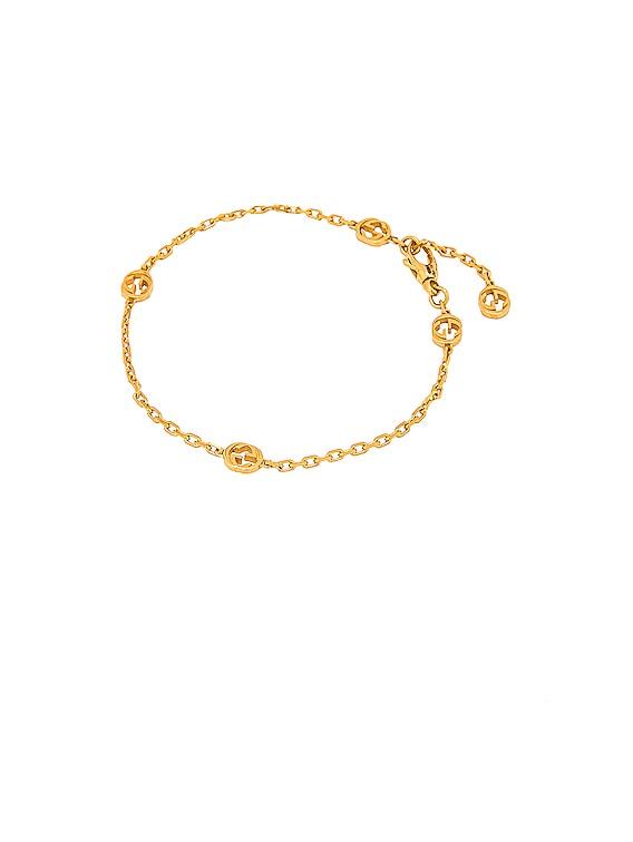 Interlocking G Bracelet in Gold
