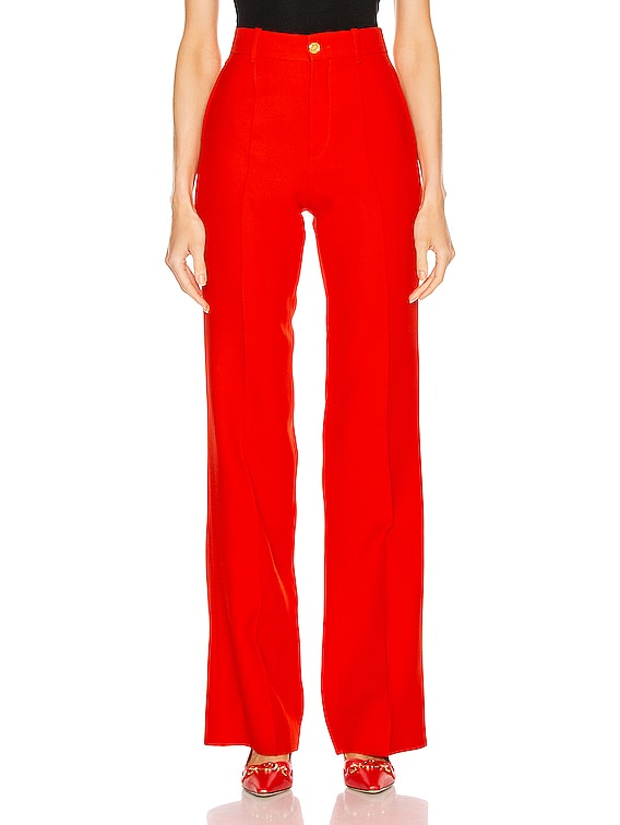 Flare Pant in Pomegrante Flower