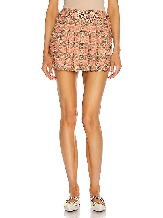 Mini Skirt in Pink