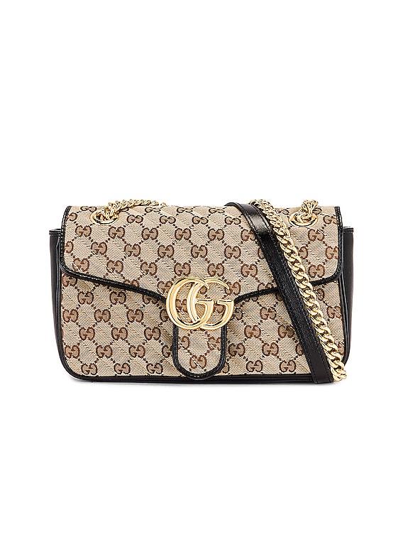 Shoulder Bag in Beige Ebony & Nero