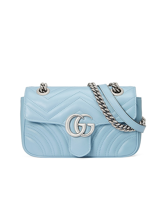 GG Marmont Bag in Porcelain Light Blue