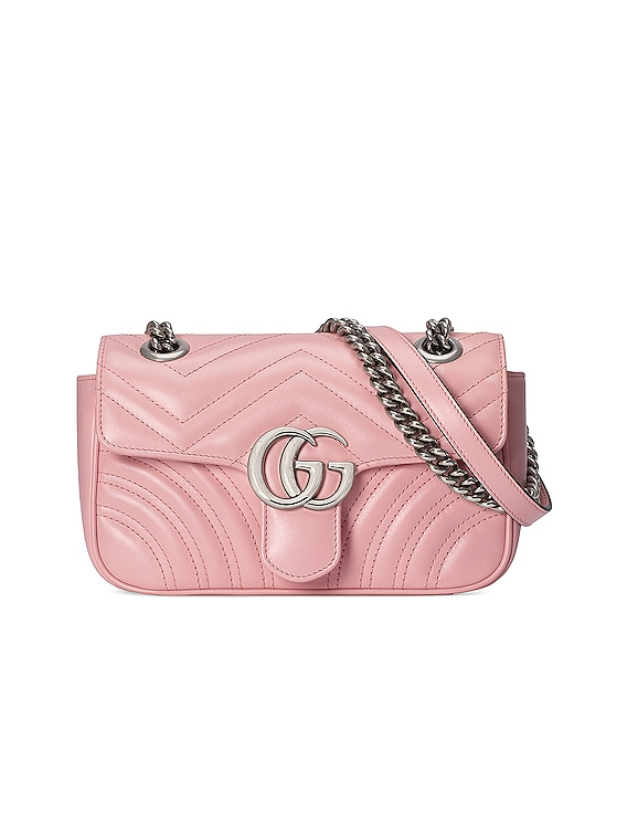 GG Marmont Bag in Wild Rose