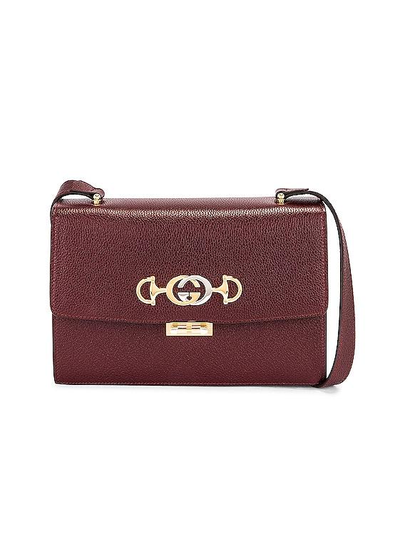 Zumi Box Shoulder Bag in Vintage Bordeaux