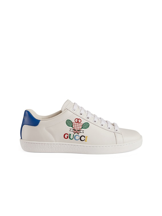 New Ace Tennis Sneakers in White