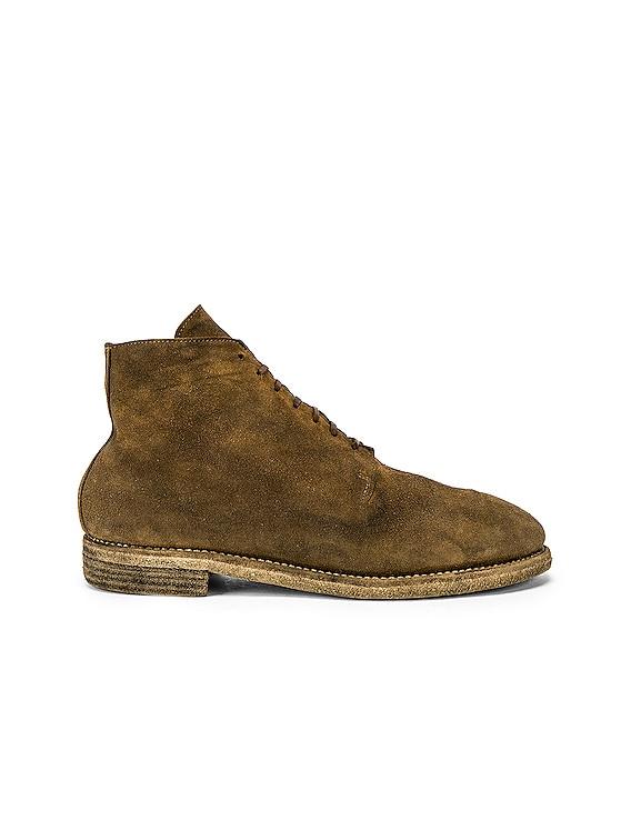 One Piece Desert Boot in Brown