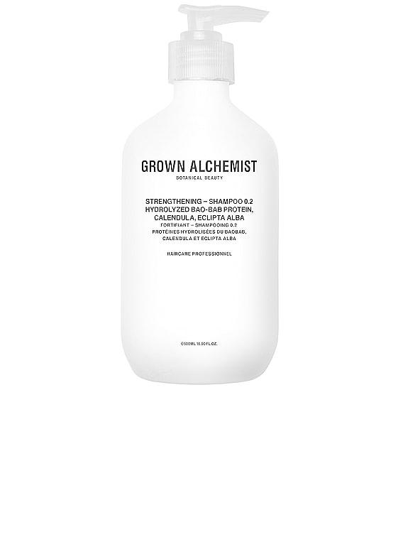 Strengthening Shampoo 0.2 in Hydrolyzed Baobab Protein, Calendula & Eclipta Alba