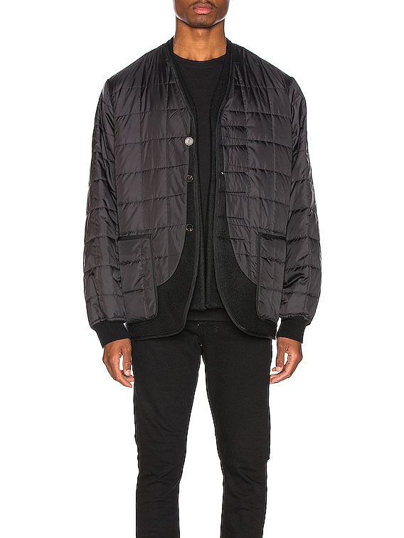 Double Layer Jacket in Black