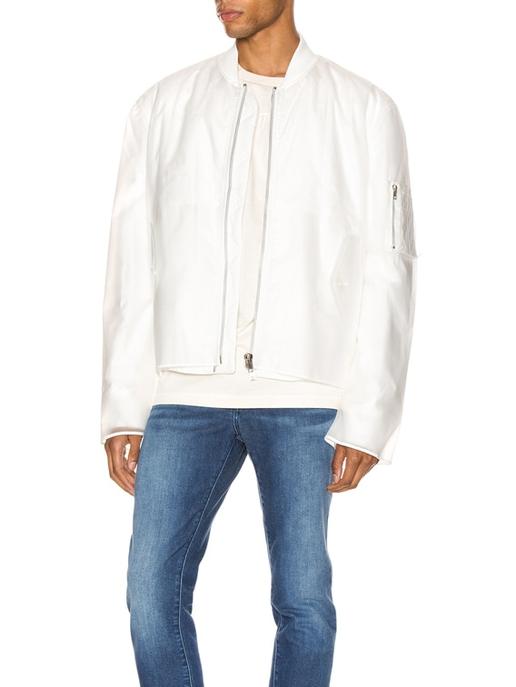 Transparent Bomber in Clear