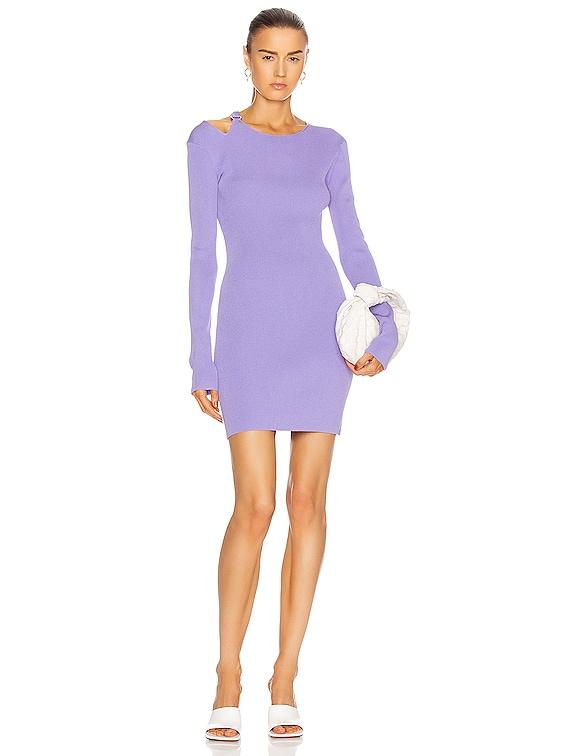 Ring Dress in Voltaic Purple