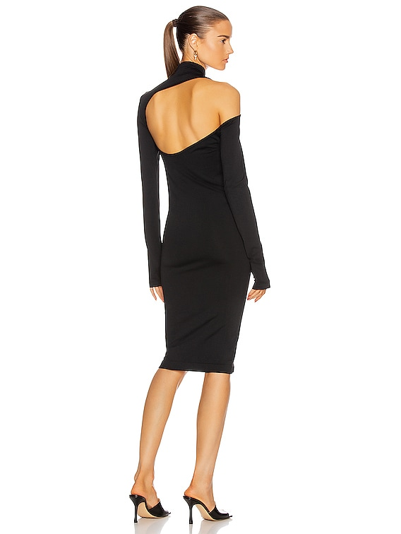 Back Cutout Dress in Black