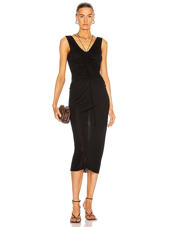 Scala Dress in Basalt Black