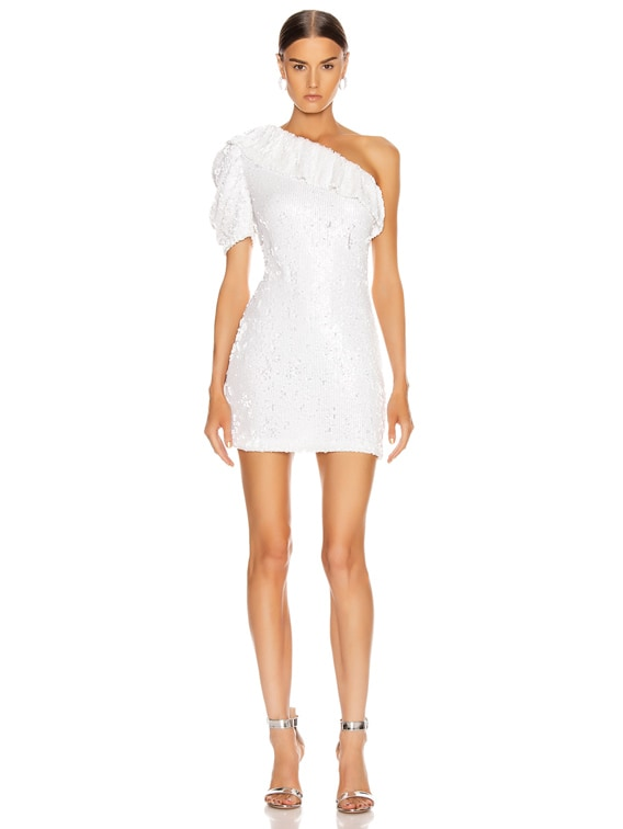 Roxe Dress in White