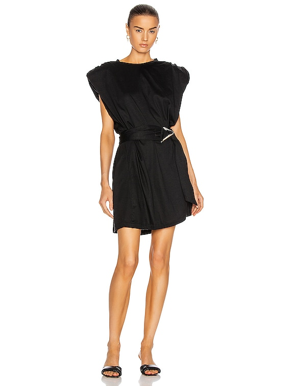 Low Dress in Black