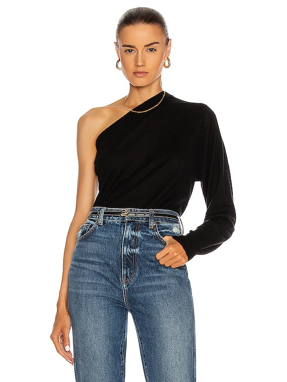 Silky Sweater in Black