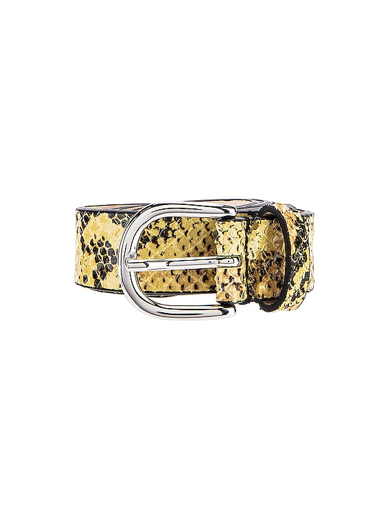 Zap Belt in Yellow