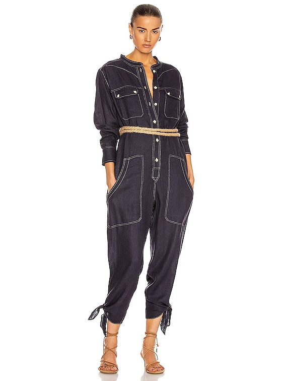 Tacaia Jumpsuit in Faded Night