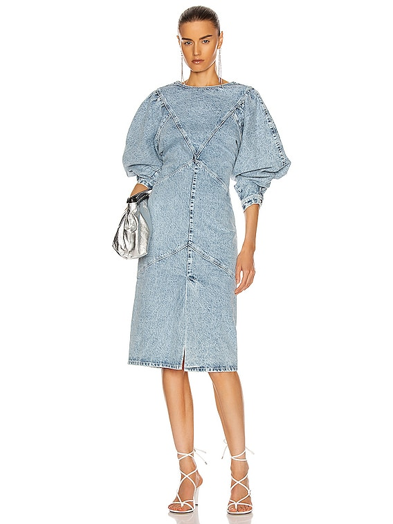 Udrea Dress in Light Blue
