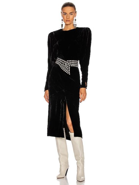 Geniasi Dress in Black