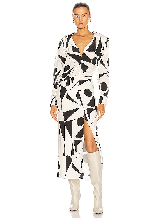 Ablainea Dress in Ecru