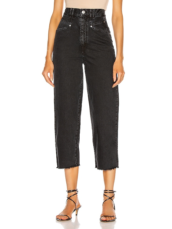 Naliska Pant in Faded Black