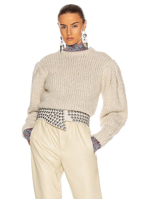 Enora Sweater in Ecru