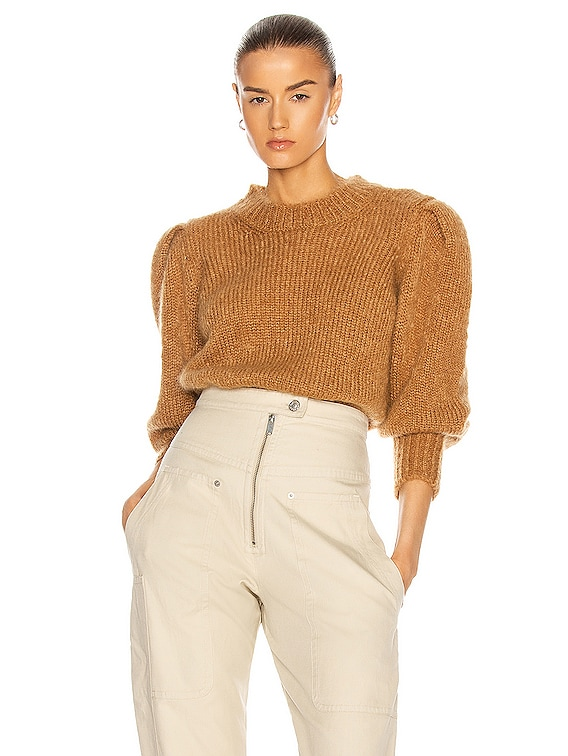 Emma Sweater in Camel