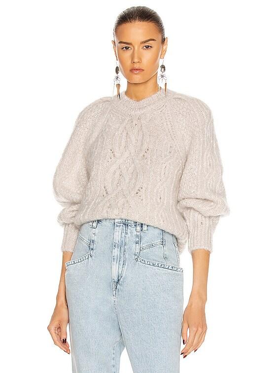 Esmee Sweater in Chalk