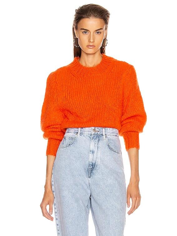 Ivah Sweater in Poppy Orange