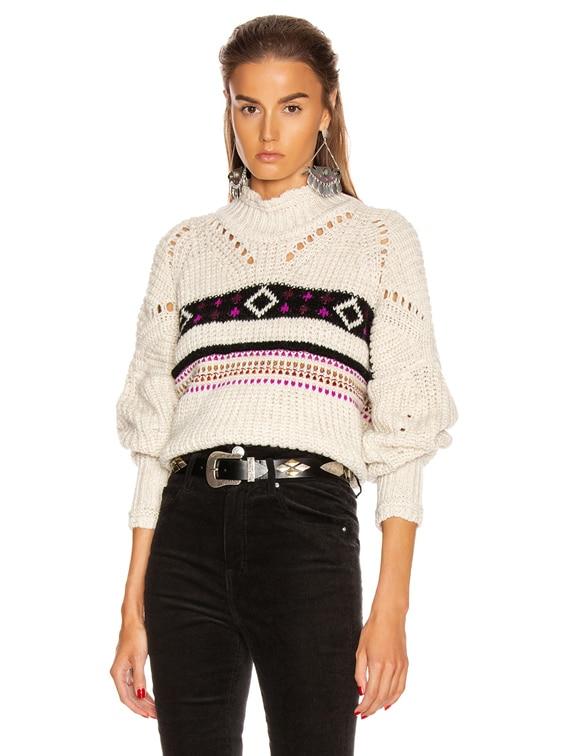 Caleen Sweater in Ecru