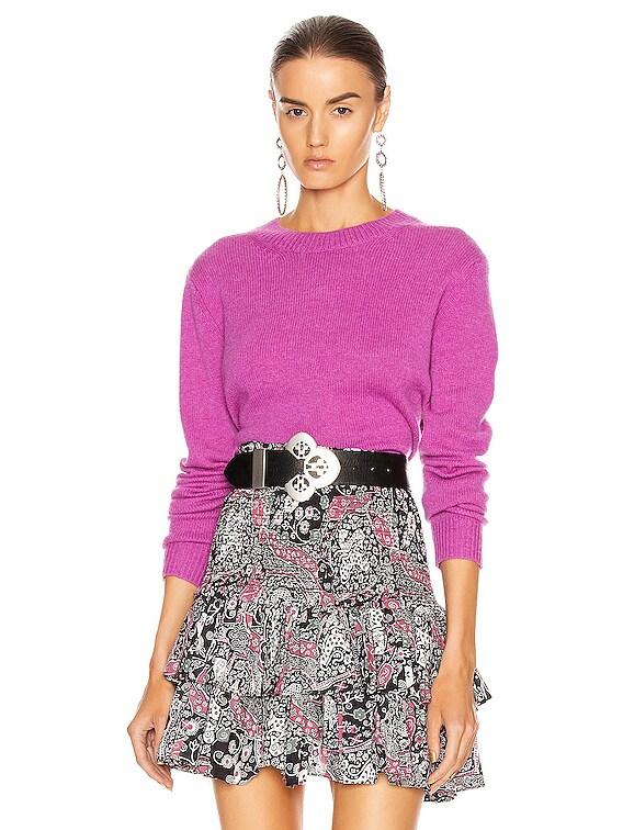 Cyllia Sweater in Fuchsia