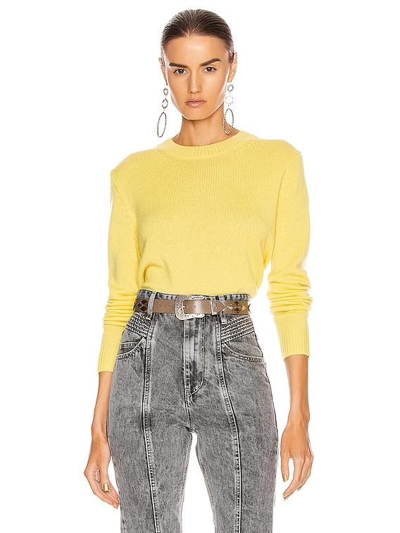 Cyllia Sweater in Yellow
