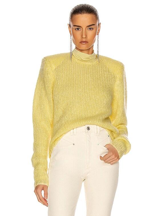 Erin Sweater in Yellow