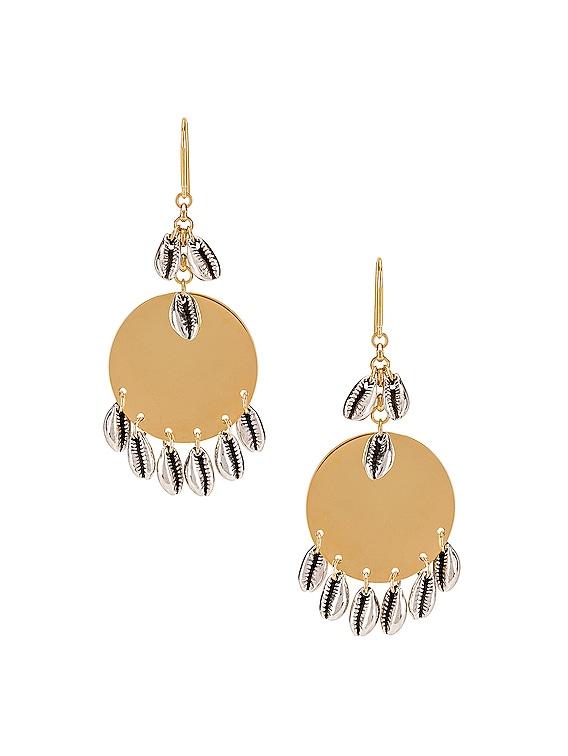 Amer Earrings in Silver