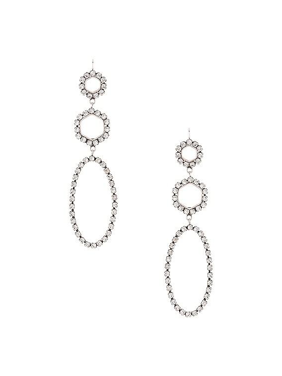 Drop Earrings in Transparent