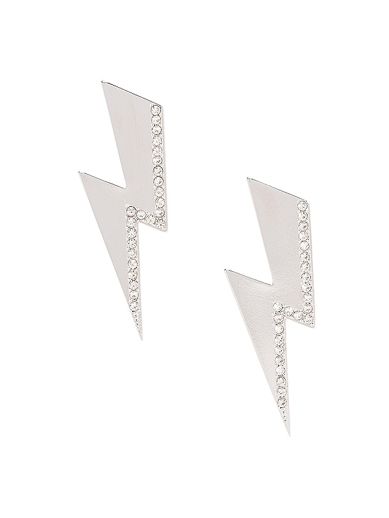 Flash Earrings in Transparent