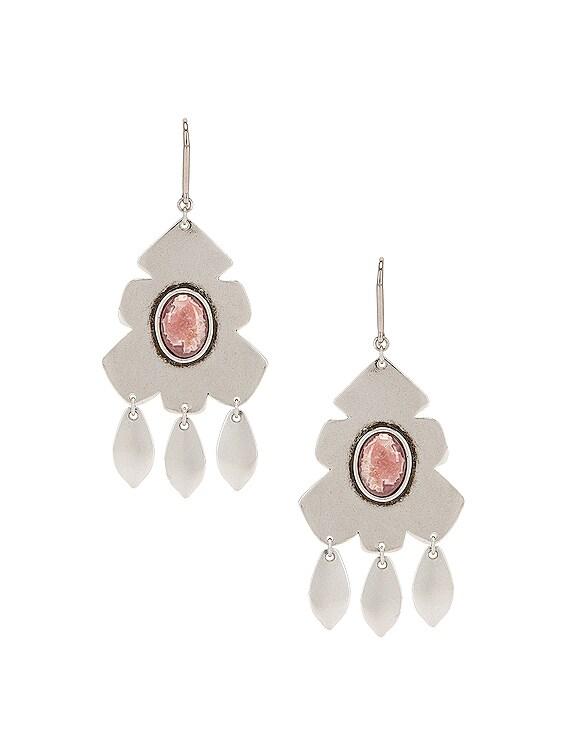 Adama Earrings in Pink