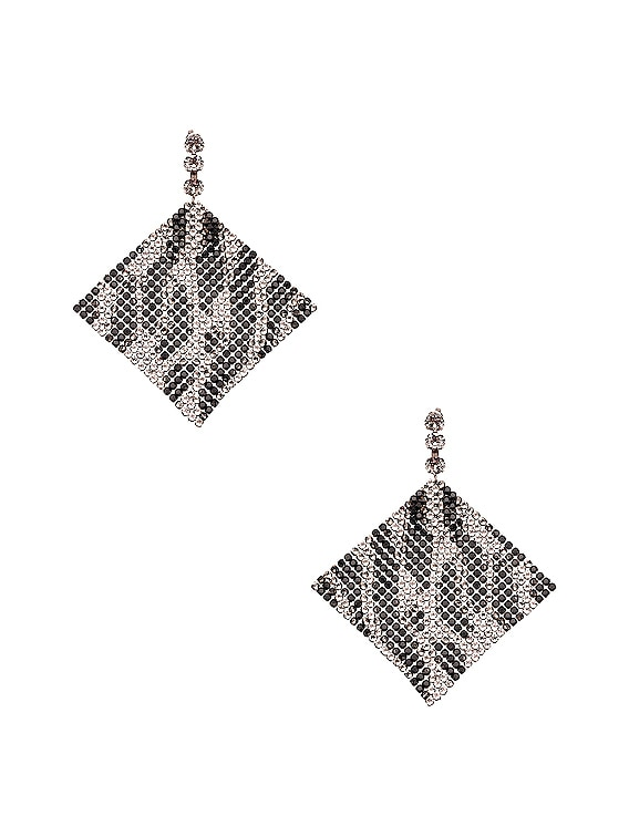 New Nile Sheet Earrings in Transparent