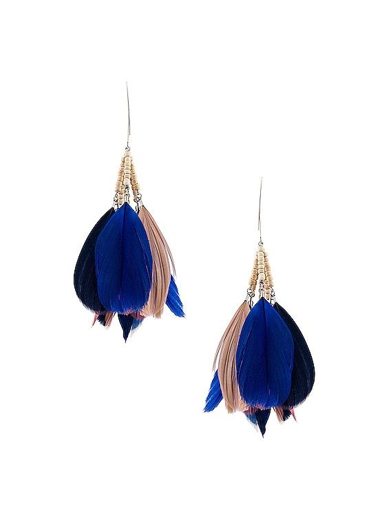 Boucle Oreille Earrings in Rosewood