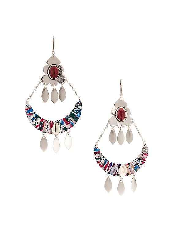 Boucle Oreille Earrings in Blue