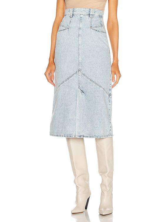 Pomano Skirt in Light Blue