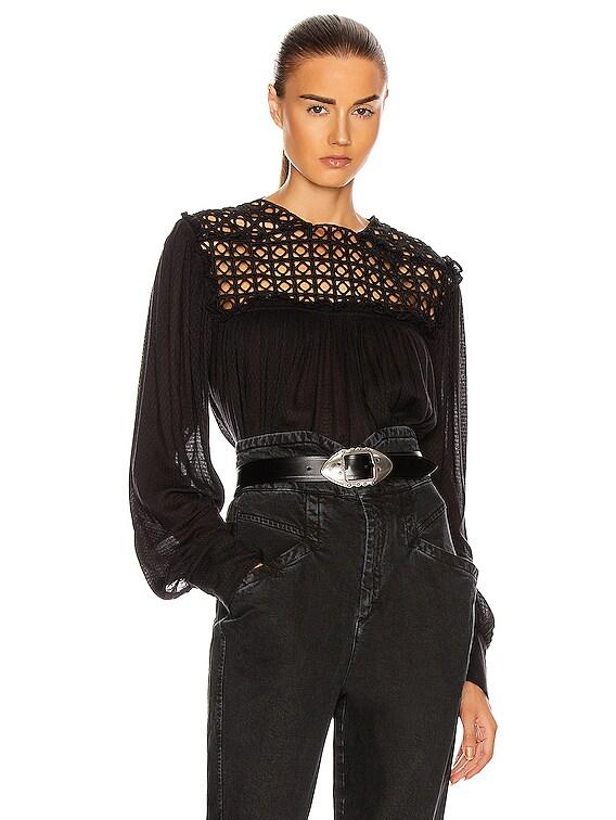 Dakeria Top in Black