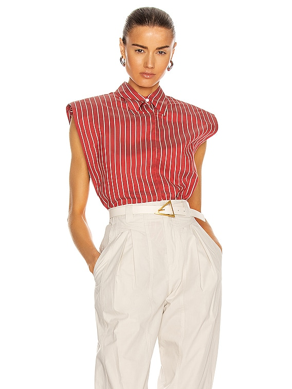 Enza Top in Red