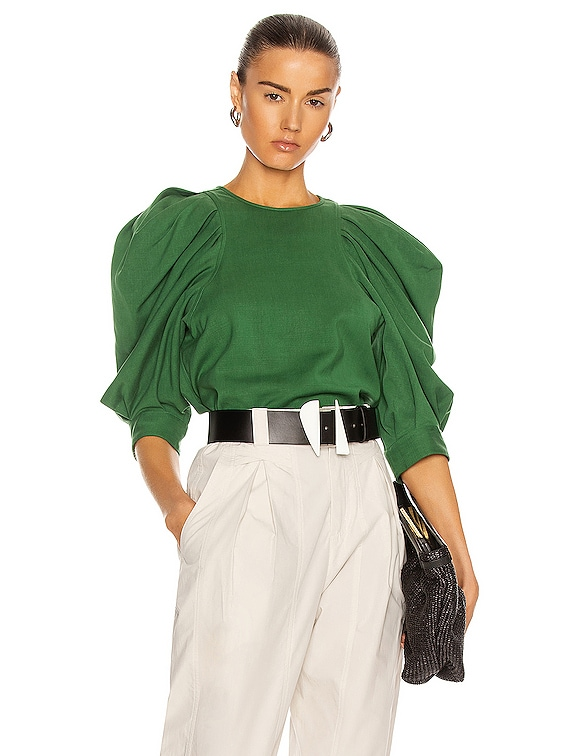 Surya Top in Green