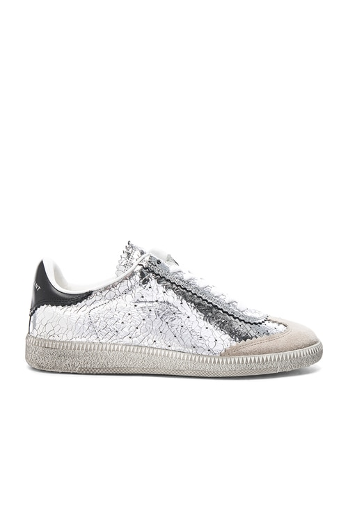 Isabel Marant Bryce Sneakers in Silver