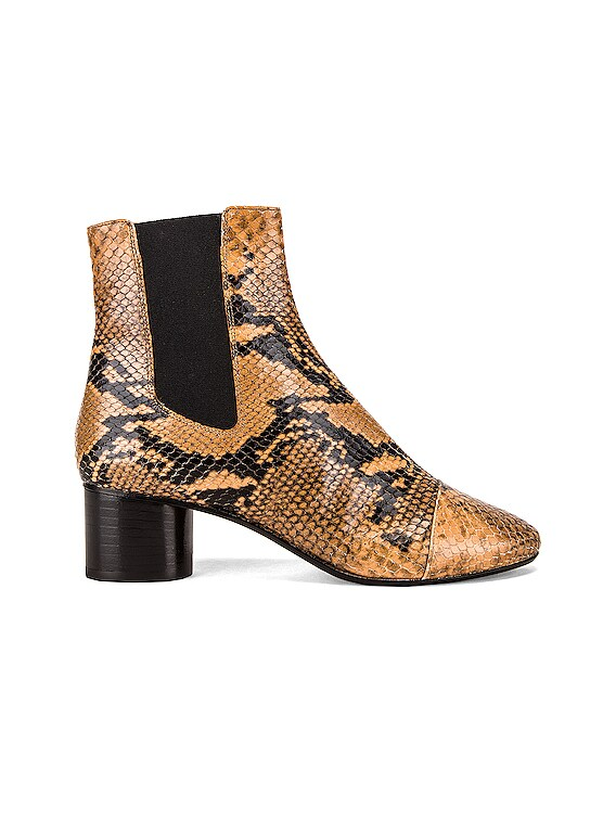 Danae Boot in Fauve