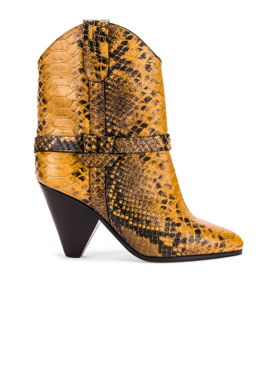 Deane Boot in Yellow
