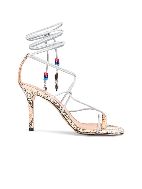 Askee Sandal in White