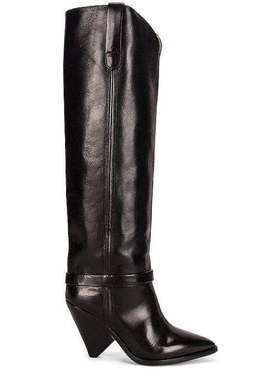 Lenskee Boot in Black